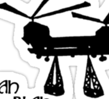 Chinook - Helicopter Sticker