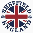 Sheffield Vintage Style British Flag by FlagCity