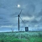 Windmill at Dusk by Infinite2000