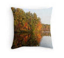 Autumn Reflection Throw Pillow