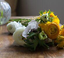 Spring flowers by Justine Gordon