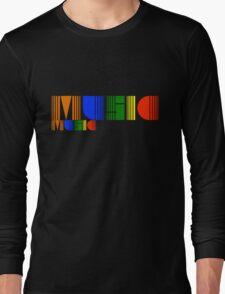 Music Rainbow Long Sleeve T-Shirt