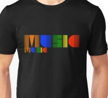 Music Rainbow Unisex T-Shirt