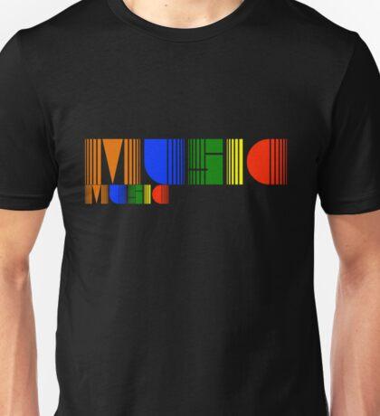 Music Rainbow Unisex T-Shirt