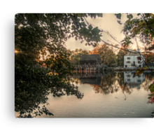 Philipsburg Manor, Sleepy Hollow, NY, USA Canvas Print