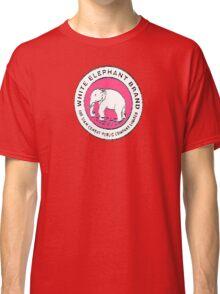 White Elephant - Pink Classic T-Shirt