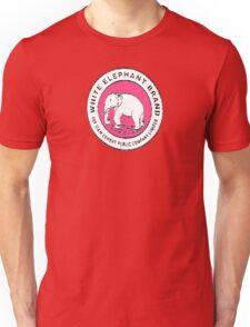 White Elephant - Pink Unisex T-Shirt