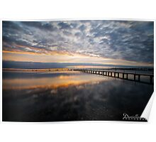Griffiths Gully Jetty Sunrise 2 Poster
