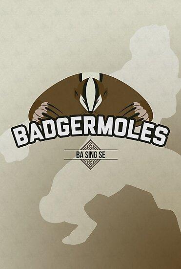 Ba Sing Se Badgermoles by jdotrdot712