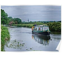Cruising Chichester Ship Canal Poster