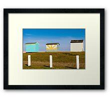 Huts Framed Print