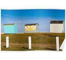 Huts Poster