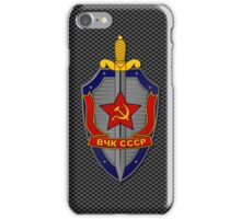 KGB Shield on Metal iPhone Case/Skin