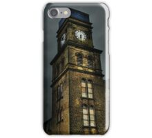 Newsome Mills Clock tower iPhone Case/Skin