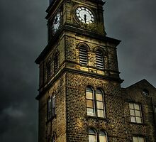 Newsome Mills Clock tower by David Robinson