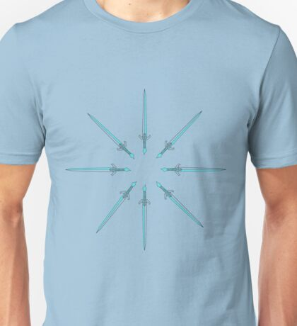 Spiral Swords Unisex T-Shirt
