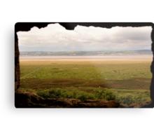 Gower Salt Marsh - As Seen From Weobly Castle Metal Print