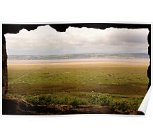 Gower Salt Marsh - As Seen From Weobly Castle Poster