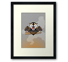 Golden Temple Tigerdillos Framed Print
