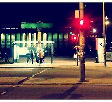 Bus stop in Berlin by will897