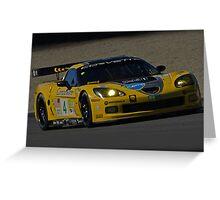 Corvette GT III Greeting Card