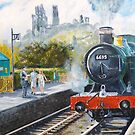 Corfe Station. by Joe Trodden