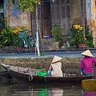 Vietnam. Hoi An. At the river. by vadim19