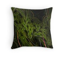 The Haunted Forest Throw Pillow