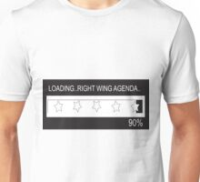 RAM Design: Loading Rightwing Agenda Plate #57 Unisex T-Shirt
