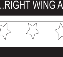 RAM Design: Loading Rightwing Agenda Plate #57 Sticker