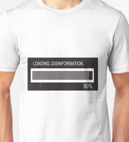 RAM Design: Loading Disinformation #58 Unisex T-Shirt