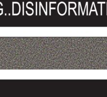 RAM Design: Loading Disinformation #58 Sticker