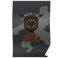 Harbor Town Hog Monkeys Poster