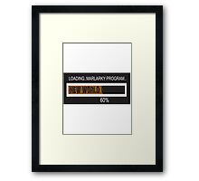 RAM Design: Loading Marlarky #60 Framed Print