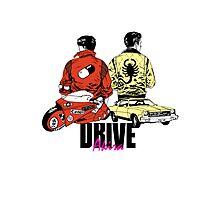 Drive x Akira Photographic Print