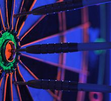 Darts in Black Light by Christian Eccleston