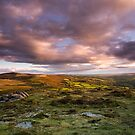 Chinkwell Tor Sunset by asc-photography