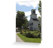 Vermont Church Greeting Card