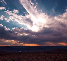 Sun shines through the Clouds by Norbert Karpen