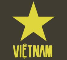 Vietnam Flag - 2 by Tim Topping