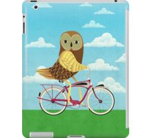 Owl Bicycle iPad Case/Skin
