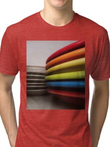 Rainbow Fiesta Tri-blend T-Shirt