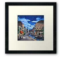 Road to Venice Framed Print