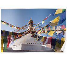 Bodnath / Boudhanath Stupa Poster