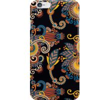 Paisley flowers iPhone Case/Skin