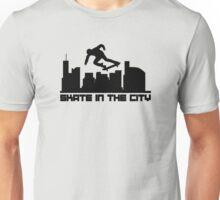 Skate in the city Unisex T-Shirt