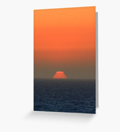 Ziggurat Sun Greeting Card