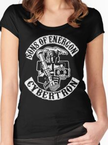 Sons of Energon Women's Fitted Scoop T-Shirt