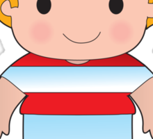 Poppy Austria Boy Sticker