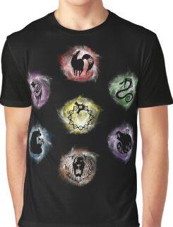 7 Deadly Sins Graphic T-Shirt